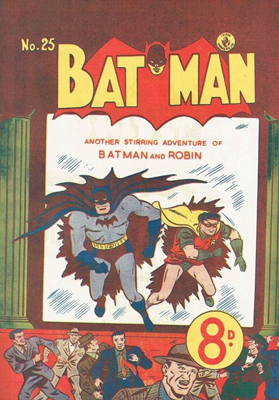 Batman (Colour Comics, 1950 series) #25 (June 1952)
