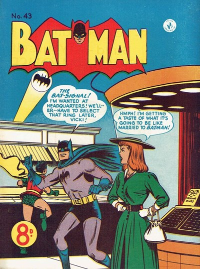 Batman (Colour Comics, 1950 series) #43 ([December 1953])