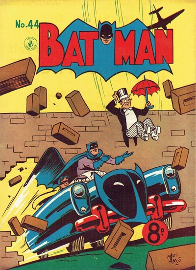 Batman (Colour Comics, 1950 series) #44 ([January 1954])