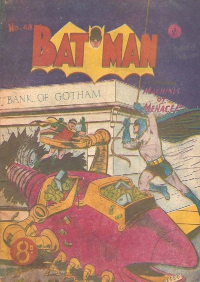 Batman (Colour Comics, 1950 series) #48 ([May 1954])