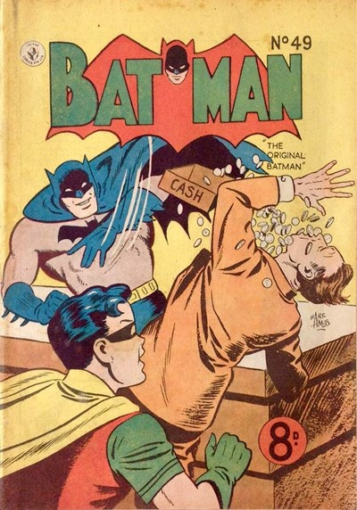Batman (Colour Comics, 1950 series) #49 ([June 1954])