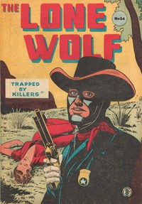 The Lone Wolf (Atlas, 1951? series) #34 — Trapped by Killers