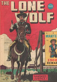 The Lone Wolf (Atlas, 1951? series) #33 — Masked Justice!