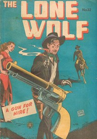 The Lone Wolf (Atlas, 1951? series) #32 — A Gun for Hire!