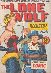 The Lone Wolf (Atlas, 1951? series) #21 — Accused!
