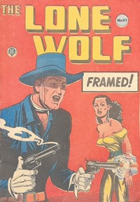 The Lone Wolf (Atlas, 1951? series) #31 — Framed