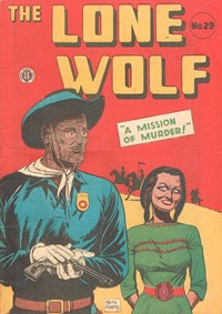 The Lone Wolf (Atlas, 1951? series) #29 — A Mission of Murder!