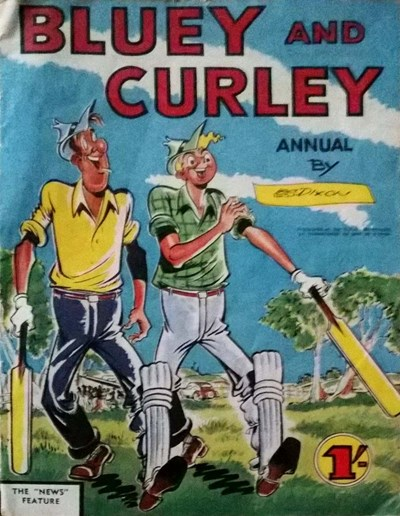 Bluey and Curley Annual (Herald, 1946? series)  ([1958?])