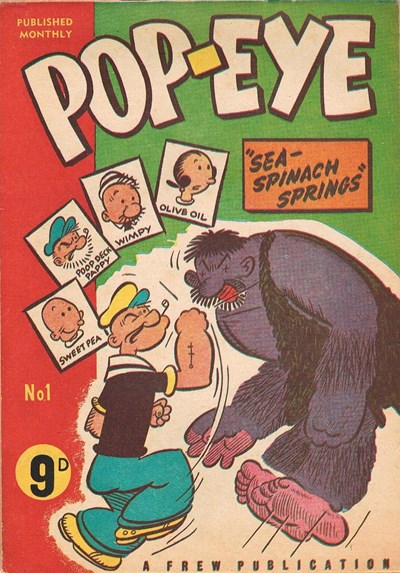 Pop-Eye (Frew, 1956? series) #1 ([January 1956?])
