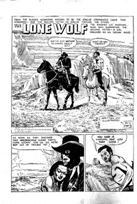 The Lone Wolf (Atlas, 1951? series) #36 — Untitled (page 1)