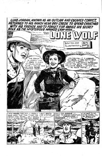The Lone Wolf (Atlas, 1951? series) #21 — Untitled (page 1)