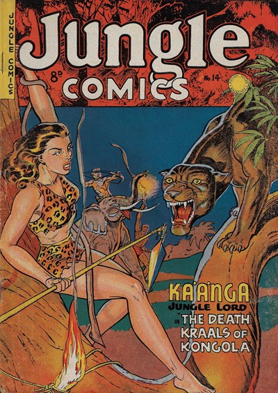 Jungle Comics (HJ Edwards, 1950? series) #14 ([November 1951?])