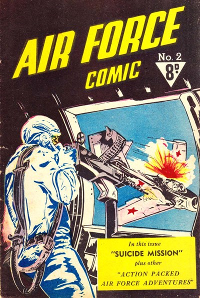 Air Force Comic (Cleland, 1952? series) #2 ([1953?])