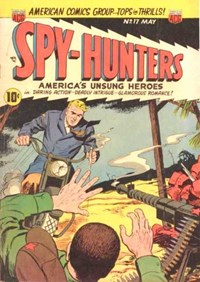 Spy-Hunters (ACG, 1949 series) #17 — Untitled