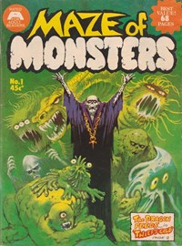 Maze of Monsters (Gredown, 1976? series) #1 — Thief's Gold (Cover)