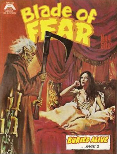 Blade of Fear (Gredown, 1976 series) #4 ([March 1977?])