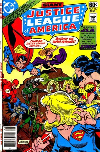 Till Doom Do Us Part!—Justice League of America (DC, 1960 series) #157  (August 1978)