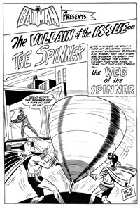 Batman and Robin (Murray, 1978 series) #16 — The Web of the Spinner (page 1)
