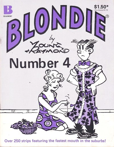 Blondie (Beaumont, 1977? series) #4 (1979)