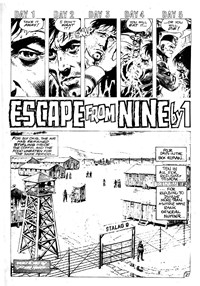 Strange Experience (Gredown, 1975 series) v1#4 — Escape from Nine by One (page 1)
