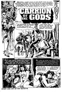 Strange Experience (Gredown, 1975 series) v1#4 — Carrion of the Gods (page 1)