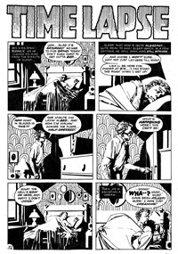 Strange Experience (Gredown, 1975 series) v1#4 — Time Lapse (page 1)