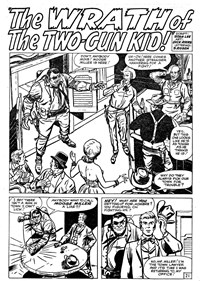 Two-Gun Kid (Horwitz, 1961 series) #41 — The Wrath of the Two-Gun Kid! (page 1)
