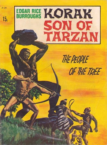 Edgar Rice Burroughs Korak Son of Tarzan