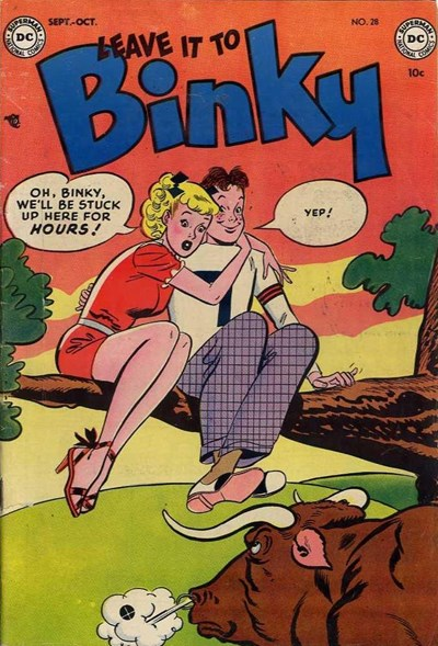 Leave it to Binky (DC, 1948 series) #28 (September-October 1952)