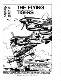 Sky Riders Great Air Aces (Colour Comics, 1966 series) #1 — The Flying Tigers (page 1)