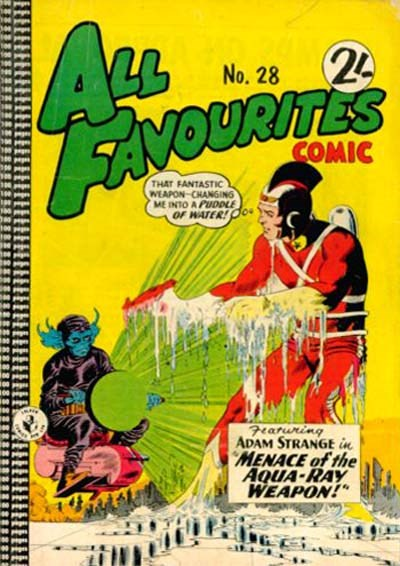 All Favourites Comic (Colour Comics, 1960 series) #28 ([December 1961?])