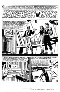 Superman Presents World's Finest Comic Monthly (Colour Comics, 1965 series) #9 — Honeymoon in Space (page 1)