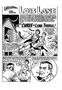 Superman Presents World's Finest Comic Monthly (Colour Comics, 1965 series) #9 — The Curse of Lena Thorul! (page 1)