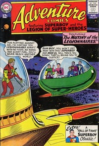 Adventure Comics (DC, 1938 series) #318 — The Mutiny of the Legionnaires