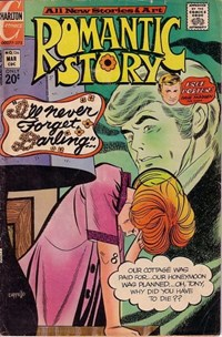 Romantic Story (Charlton, 1954 series) #126 — I'll Never Forget, Darling