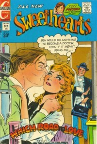 Sweethearts (Charlton, 1954 series) #130 — Which Road to Love