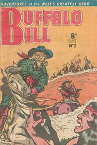 Buffalo Bill (Associated General Publications Pty. Ltd., 1951? series) #2  ([March 1951?])