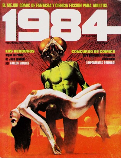 1984 (Toutain, 1978 series) #15 ([1980?])