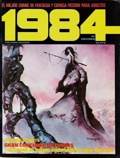 1984 (Toutain, 1978 series) #16 (February 1980)