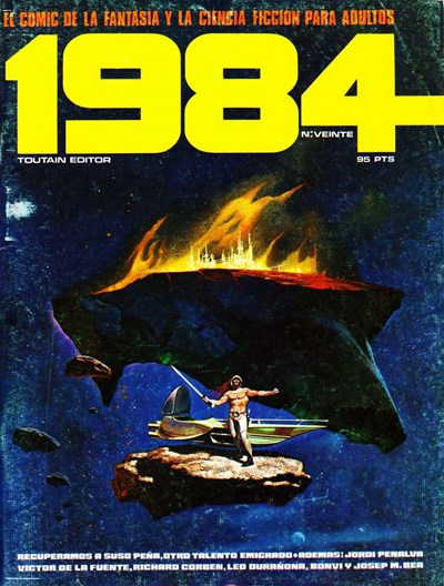 1984 (Toutain, 1978 series) #20 (June 1980)