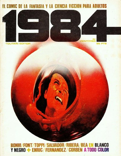 1984 (Toutain, 1978 series) #23 (September 1980)