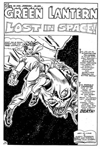 Green Lantern (KG Murray, 1975 series) #8 — Lost In Space--Lost On Earth (page 1)