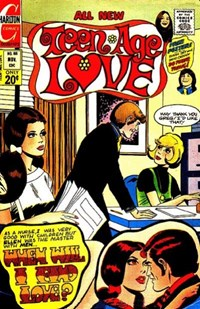 Teen-Age Love (Charlton, 1958 series) #88 — When Will I Find Love?