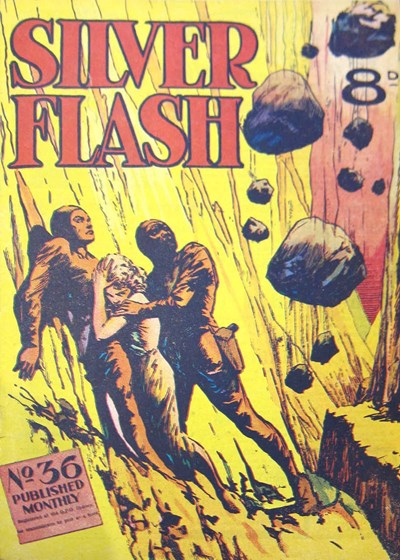 Silver Flash and his Frog-Men (Invincible, 1949 series) #36 ([May 1953?])