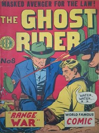 The Ghost Rider (Atlas, 1952? series) #8