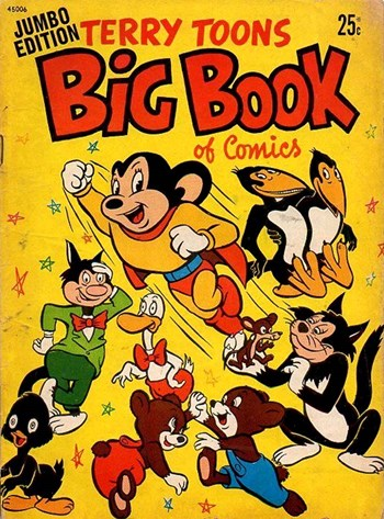 Terry Toons Big Book of Comics Jumbo Edition
