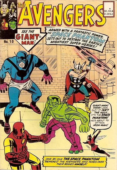 The Avengers (Yaffa, 1977? series) #10 ([1982?])