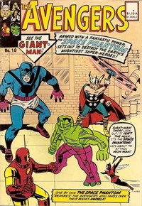 The Avengers (Yaffa/Page, 1977 series) #10 — The Space Phantom
