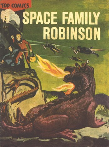 Top Comics Space Family Robinson