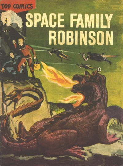 Top Comics Space Family Robinson (Ayers & James, 1971?) #307 ([1971?])